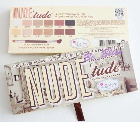 The Balm Nude 'Tude Lidschatten Palette