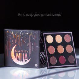 MannyMUA x Makeup Geek Shadow Palette