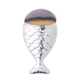 "Mermaid Chubby Brush ""Silver"""