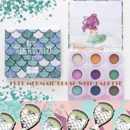 KG Beauty - Mermaid Palette with Chubby Brush Set