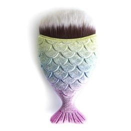 """Mermaid Chubby Brush """"Rainbow Tail"""""""