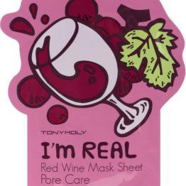 """TONYMOLY I'm Real Sheet Mask """"Red Wine"""""""